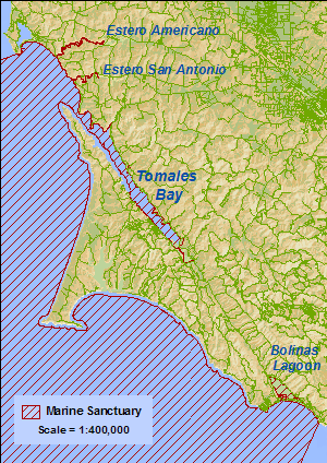Estuaries map
