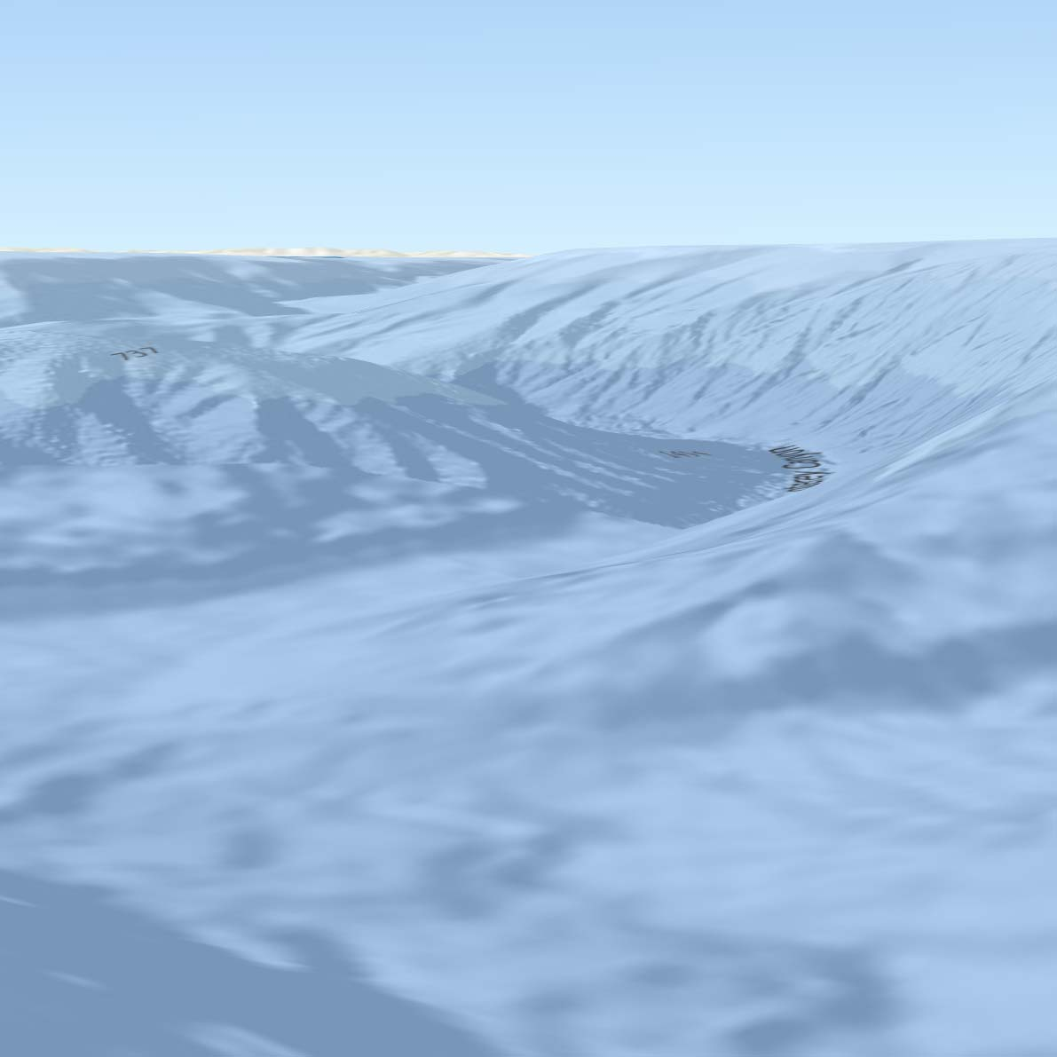 3D Bathy Map sample
