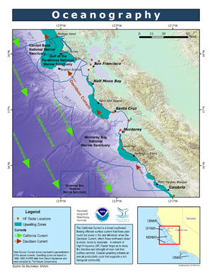 Oceanography_ map