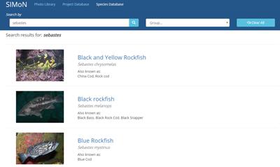 species database